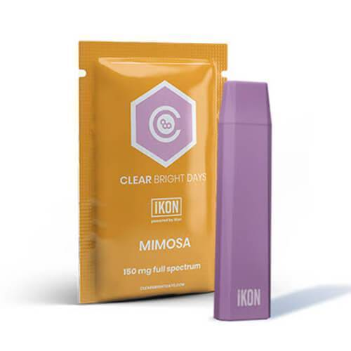 Clear Bright Days - CBD Device - iKON Mimosa - 150mg
