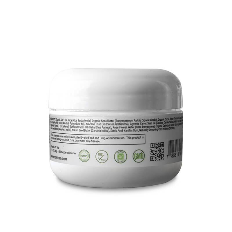 Core CBD - CBD Topical - Face Cream - 50mg