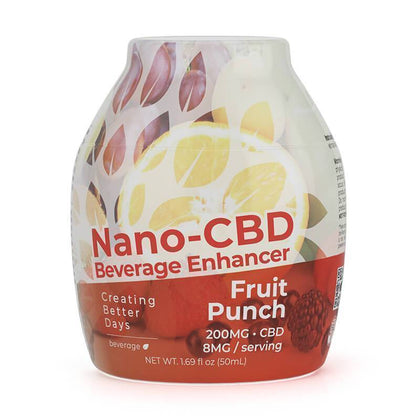 Creating Better Days - CBD Drink Mix - Fruit Punch - 200mg-buy-CBD-online