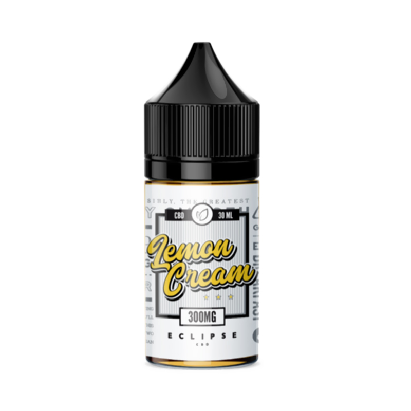Eclipse CBD - CBD Vape Juice - Lemon Cream - 300mg-600mg