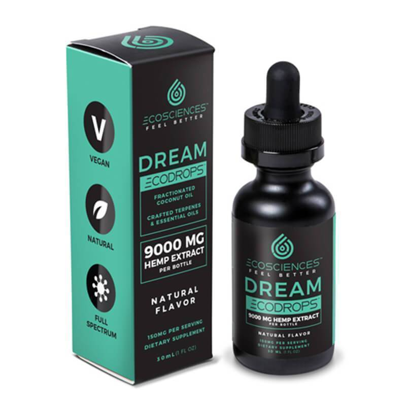 Eco Sciences - CBD Tincture - ECODROPS Dream 30ml - 1500mg