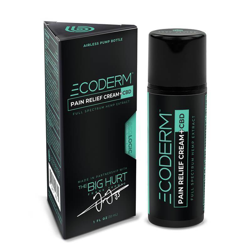 Eco Sciences - CBD Topical - ECODERM Pain Cream - 300mg