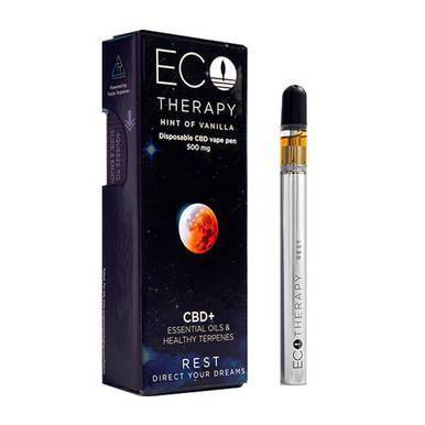 ECO Therapy CBD - CBD Vape - Rest Disposable Pen - 500mg