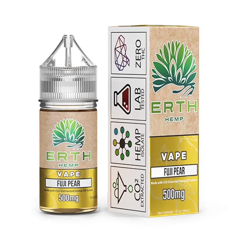ERTH - CBD Vape Juice - Fuji Pear - 250mg