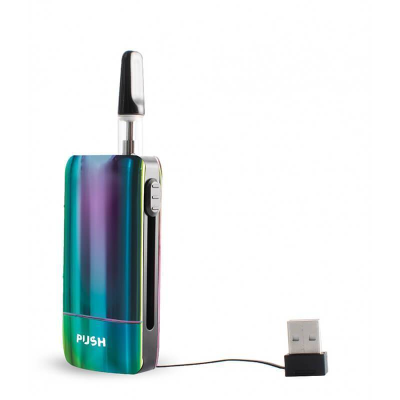 Exxus Vape - CBD Device - Push Cartridge Vaporizer
