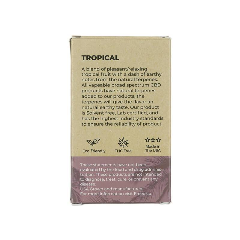 Freed - CBD Cartridge - Tropical - 200mg