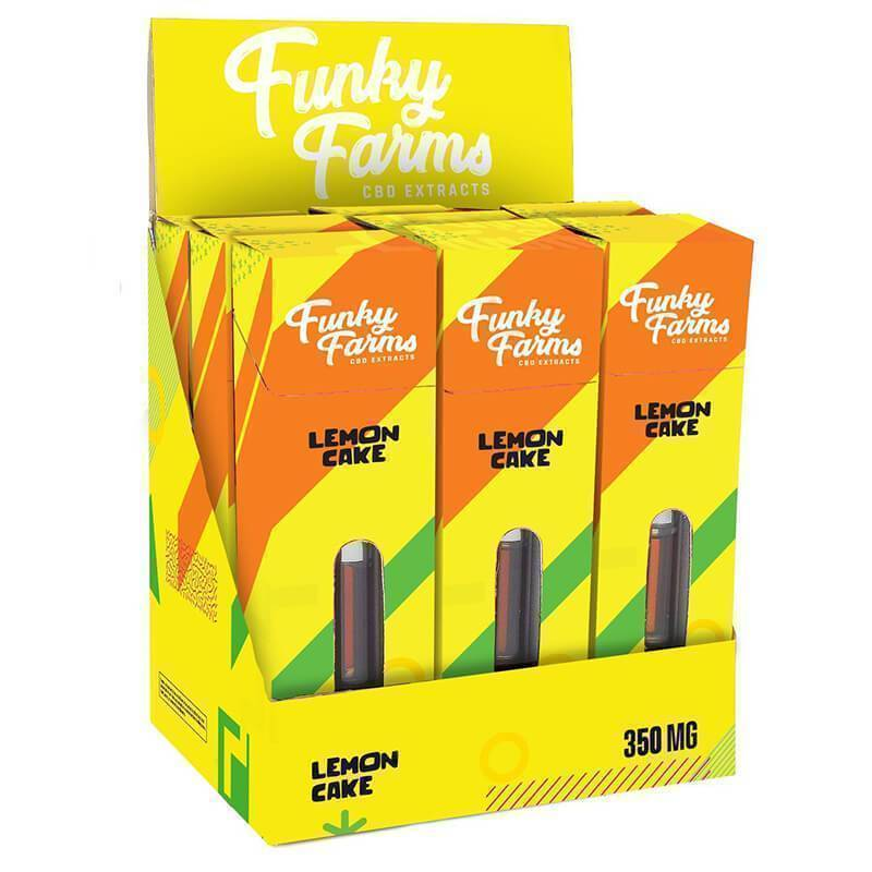 Funky Farms - CBD Terpene Cartridge - Lemon Cake - 350mg