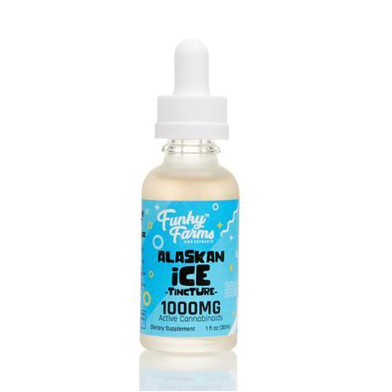Funky Farms - CBD Tincture - Alaskan Ice - 250mg-2000mg