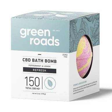 Green Roads - CBD Bath - Refresh Bath Bomb - 150mg-buy-CBD-online