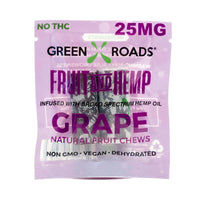 Green Roads - CBD Edible - Grape Fruit & Hemp OTG - 25mg-buy-CBD-online