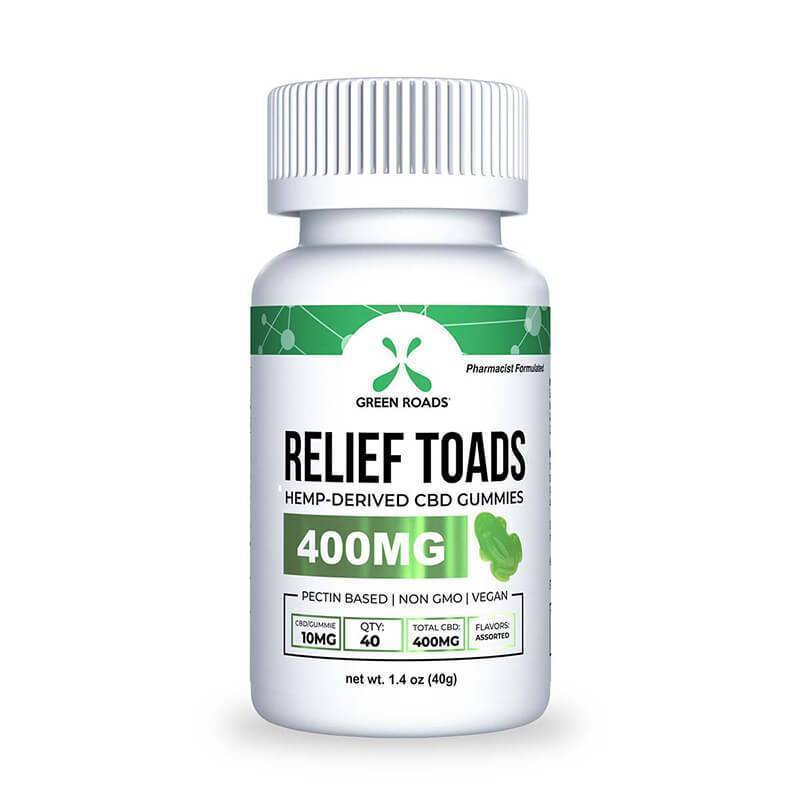 Green Roads - CBD Edible - Relief Toads - 400mg