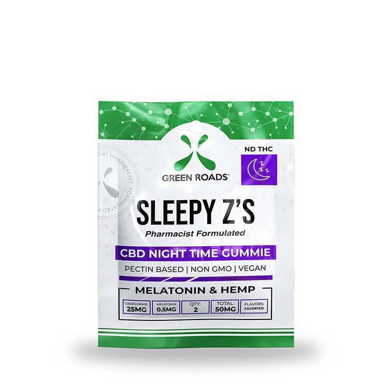Green Roads - CBD Edible - Sleepy Z's - 50mg
