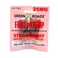 Green Roads - CBD Edible - Strawberry Fruit & Hemp OTG- 25mg-buy-CBD-online