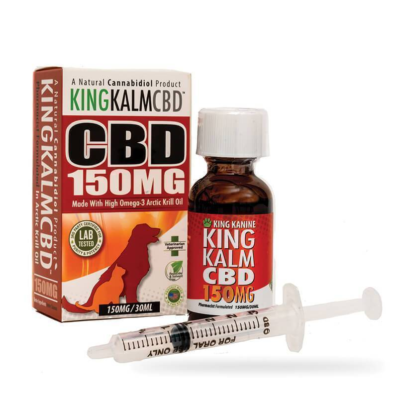 Green Roads - CBD Pet Tincture - KingKalmCBD Canine Formula - 150mg