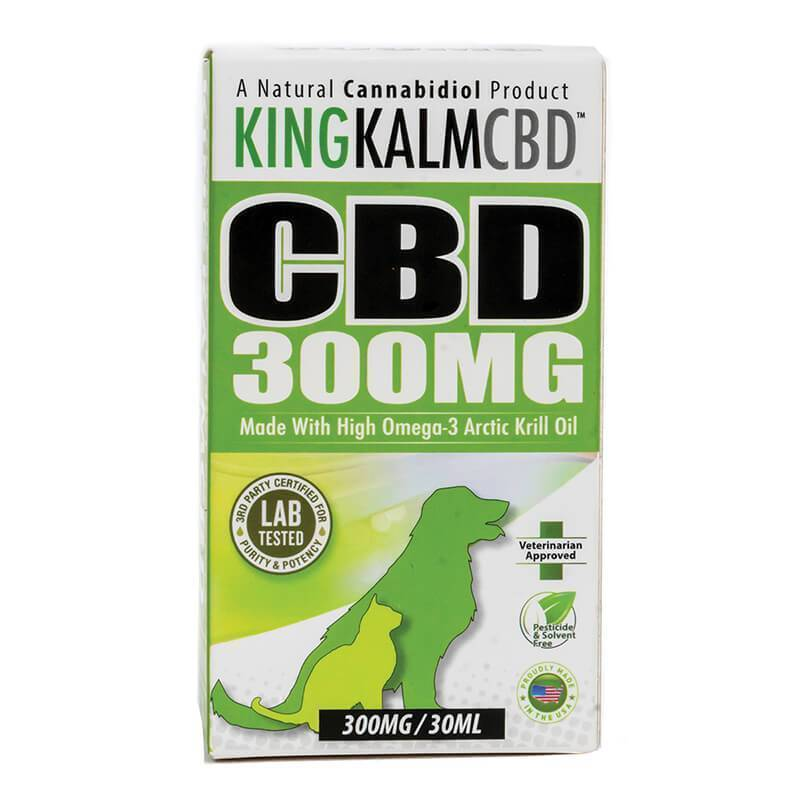 Green Roads - CBD Pet Tincture - KingKalmCBD Canine Formula - 300mg