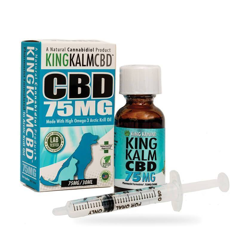 Green Roads - CBD Pet Tincture - KingKalmCBD Canine Formula - 75mg