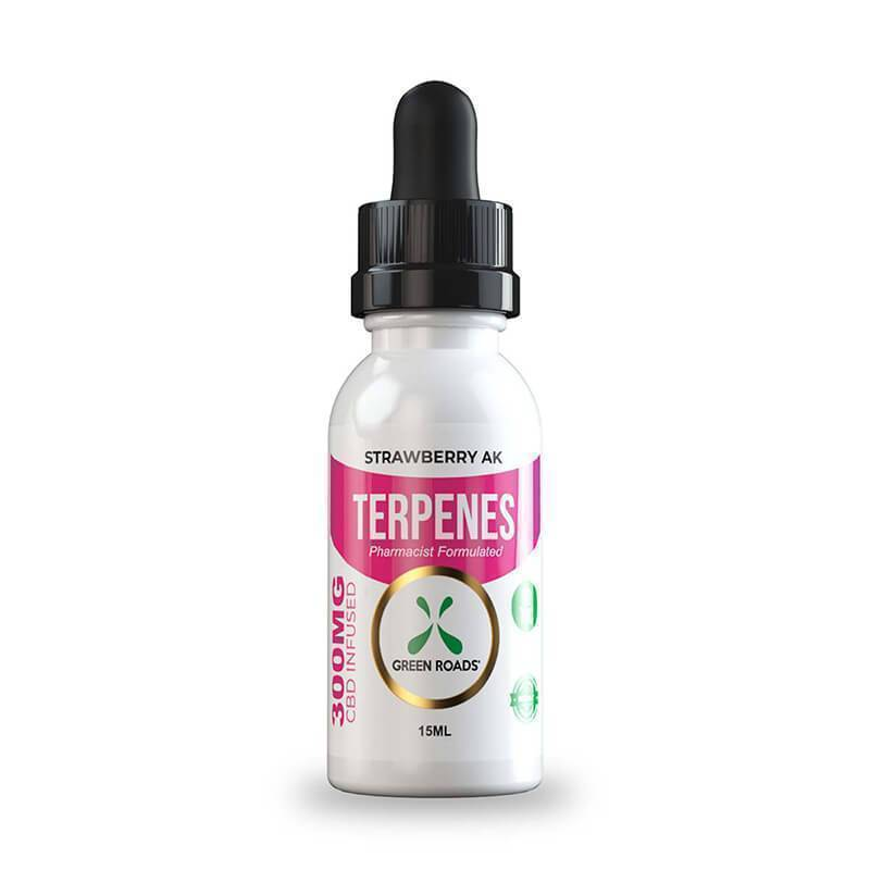 Green Roads - CBD Terpenes Oil - Strawberry AK