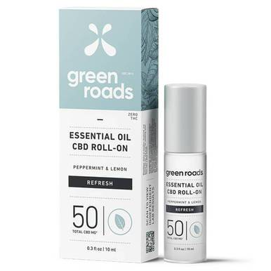 Green Roads - CBD Topical - Refresh Essential Oil Roller - 50mg-buy-CBD-online