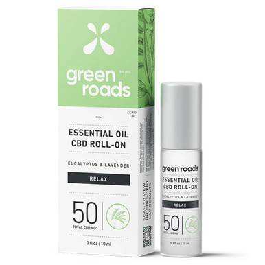 Green Roads - CBD Topical - Relax Essential Oil Roller - 50mg-buy-CBD-online