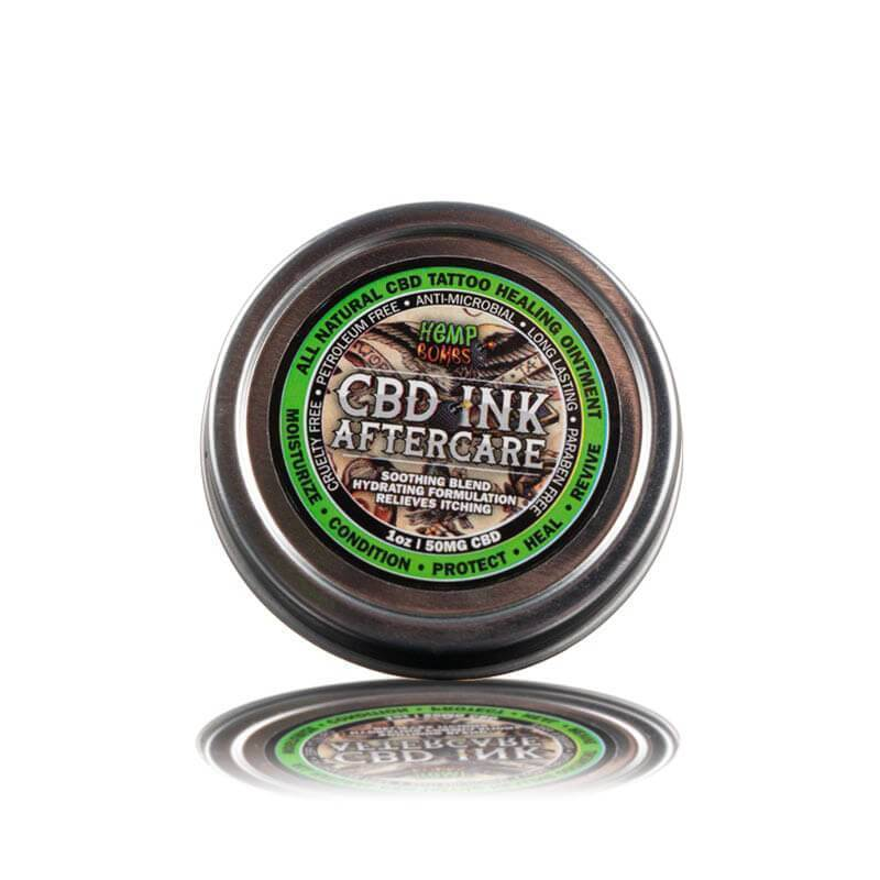Hemp Bombs - CBD Topical - 1oz Tattoo Ointment - 50mg