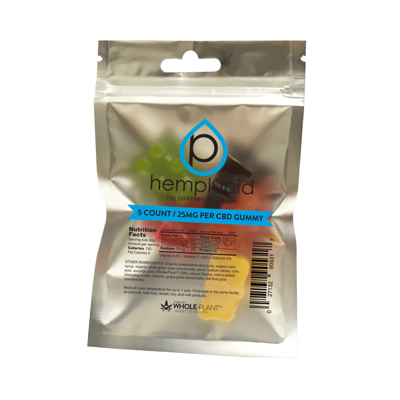 Hemplucid - CBD Edible - Whole Plant Gummies - 25mg