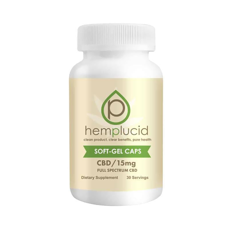 Hemplucid - CBD Soft Gel Caps - 15mg-75mg
