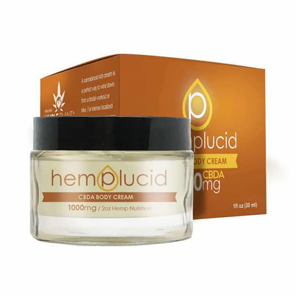 Hemplucid - CBD Topical - CBDA Body Cream - 1000mg-buy-CBD-online