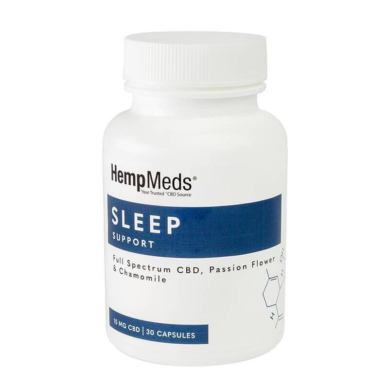 HempMeds - CBD Capsules - Everyday Wellness Sleep Support - 15mg