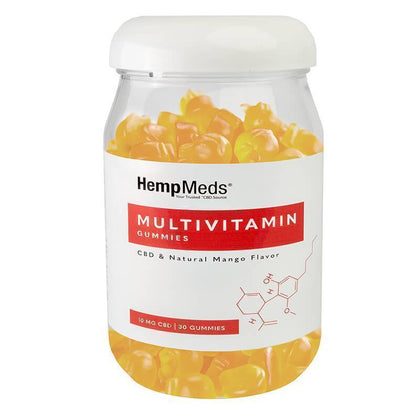 HempMeds - CBD Edible - Everyday Wellness Multivitamin Gummies 30 Count - 10mg-buy-CBD-online