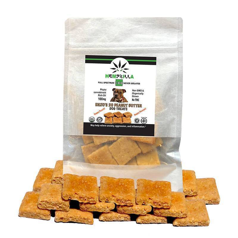 Hempzilla - CBD Pet Treat - 30mg