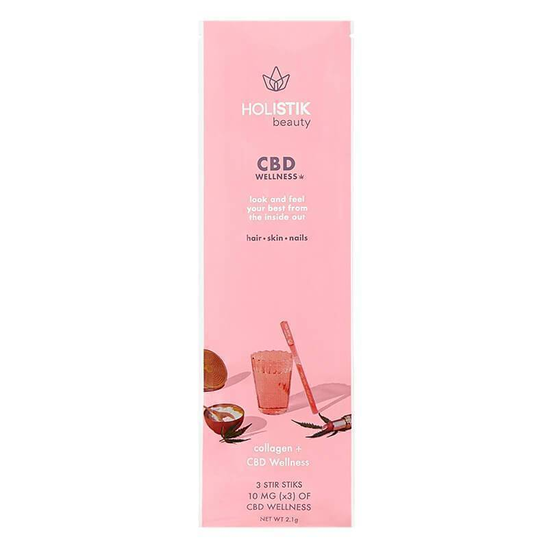 HOLISTIK Wellness - CBD Drink Mix - Beauty Stir STIK - 10mg