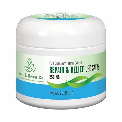 Hopp And Hemp Co - CBD Topical - Repair Relief Salve - 250mg-buy-CBD-online