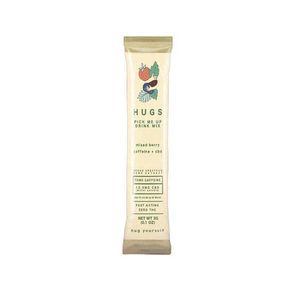 HUGS - CBD Drink Mix - Pick Me Up Mixed Berry - 12.5mg