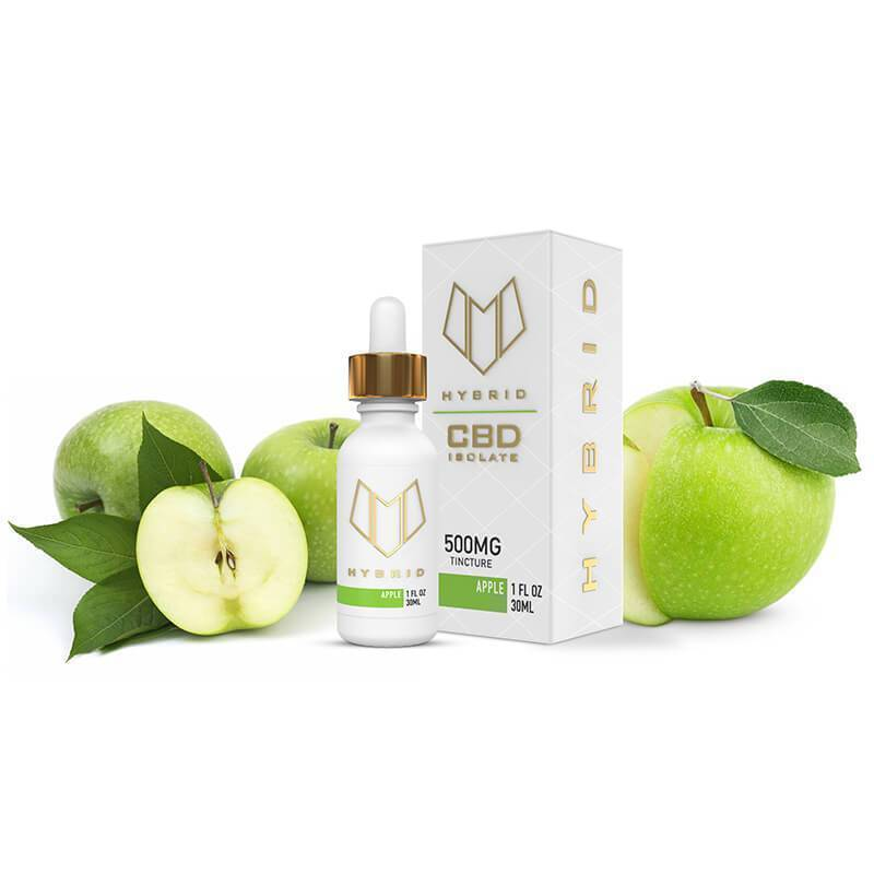 Hybrid CBD - CBD Tincture - Apple - 500mg-1000mg