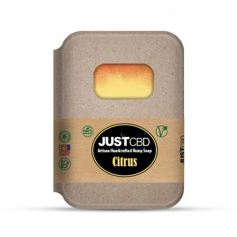JustCBD - CBD Bath - Citrus Soap