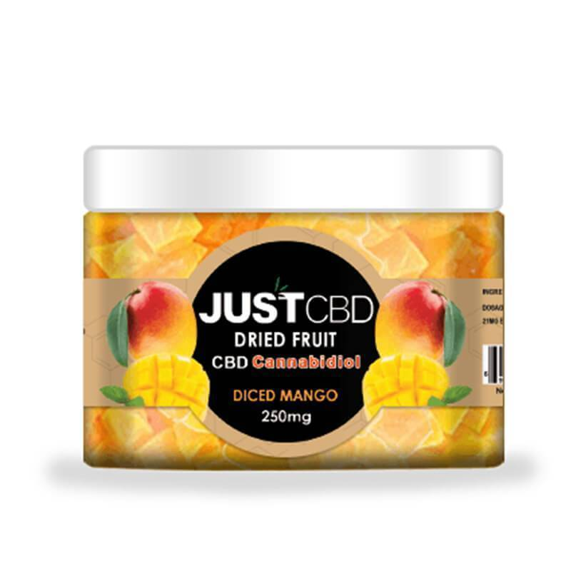 JustCBD - CBD Edible - Dried Mango - 12mg