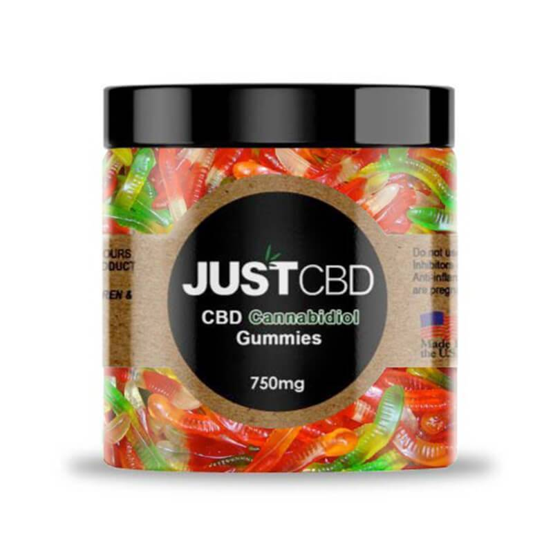 JustCBD - CBD Edible - Worms Gummies - 10mg