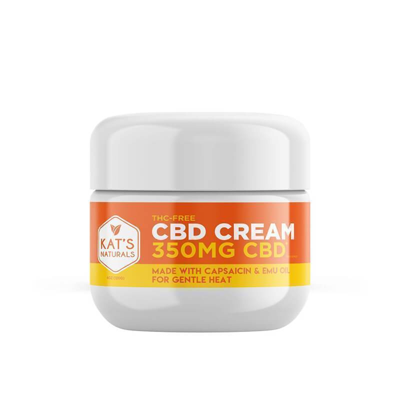 Kat's Naturals - CBD Topical - Capsaicin Cream - 350mg-1400mg