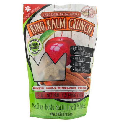 King Kalm - CBD Pet Edible - Apple Cinnamon Crunch - 120mg-buy-CBD-online
