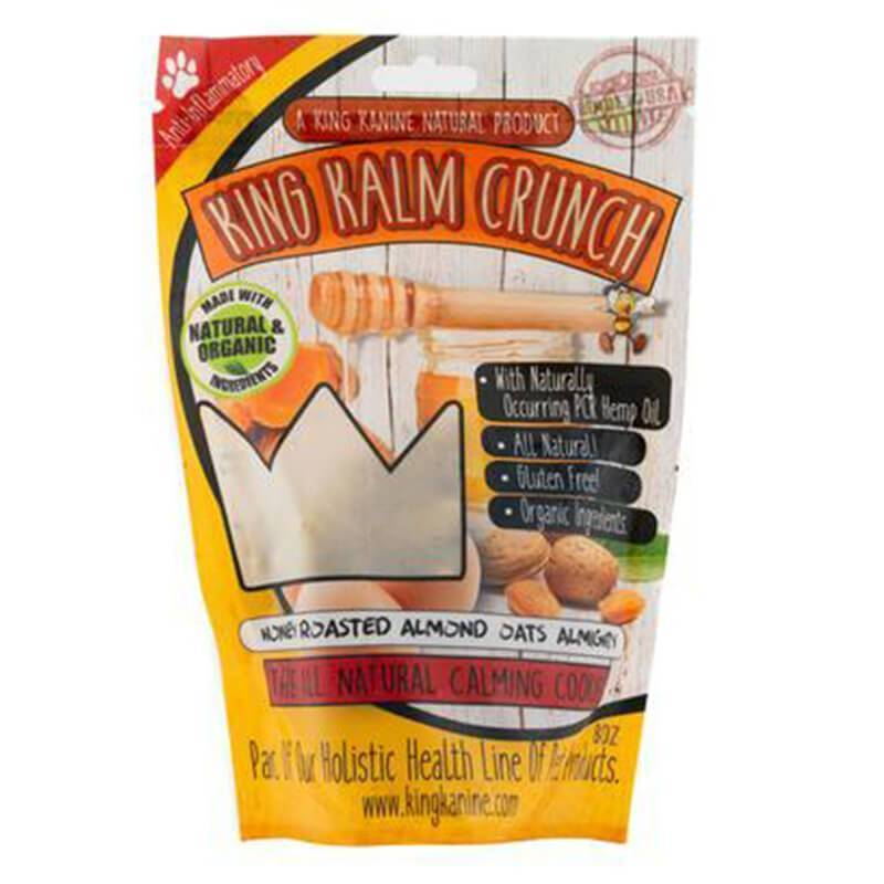 King Kalm - CBD Pet Edible - Honey Oats Crunch - 120mg