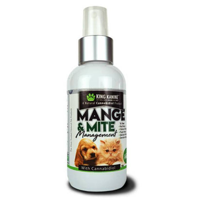 King Kalm - Pet Topical - Mange & Mite Management Spray-buy-CBD-online