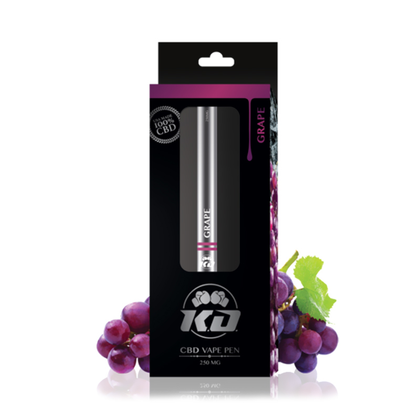 Knockout CBD - CBD Device - Disposable Pen Grape - 250mg-buy-CBD-online