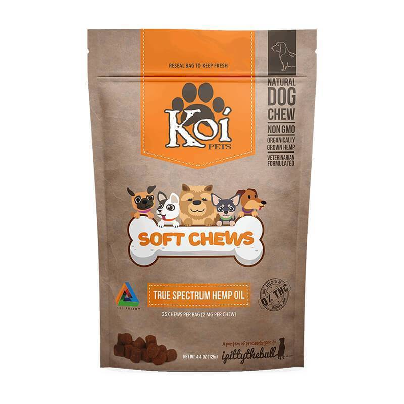 Koi CBD - CBD Pet Edible - Naturals Soft Chews - 2mg