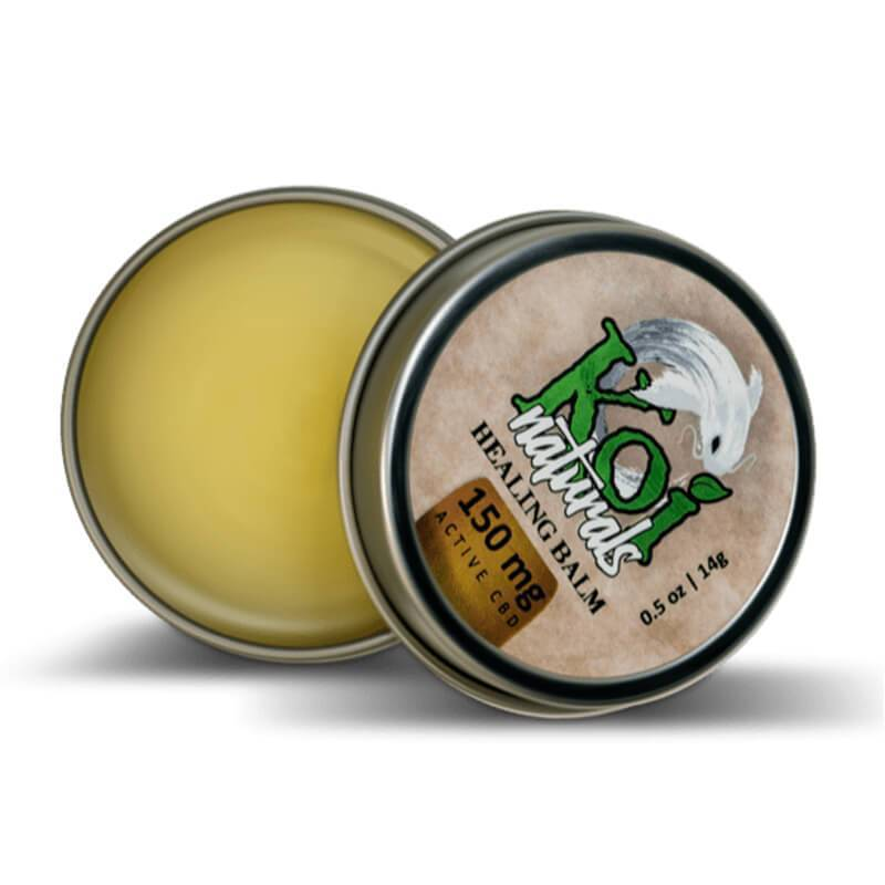 Koi CBD - CBD Topical - Travel Size Healing Balm - 150mg