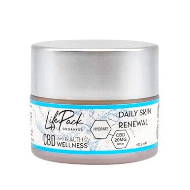 Life Pack Organics - CBD Topical - Daily Skin Renewal Cream - 20mg
