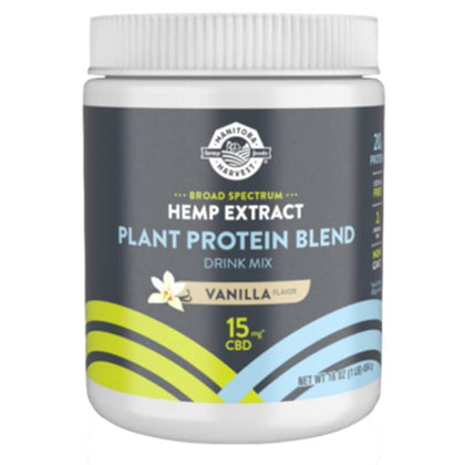 Manitoba Harvest - CBD Drink Mix - Vanilla Plant Protein Blend - 165mg-buy-CBD-online