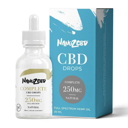 Nano Z CBD - CBD Tincture - Full Spectrum Natural Complete Drops - 1500mg-buy-CBD-online