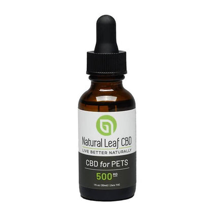 Natural Leaf CBD - CBD Pet Tincture - 500mg-buy-CBD-online