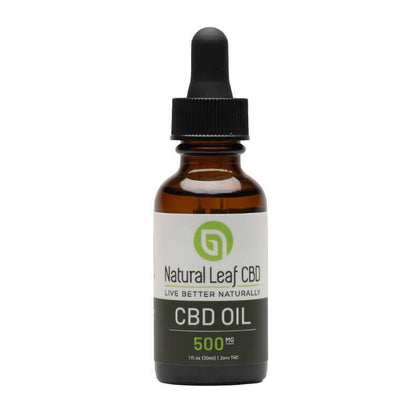Natural Leaf CBD - CBD Tincture Oil - 500mg-1500mg-buy-CBD-online