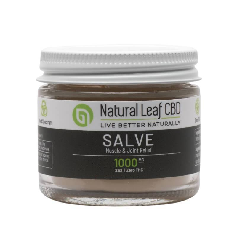 Natural Leaf CBD - CBD Topical Salve - 1000mg